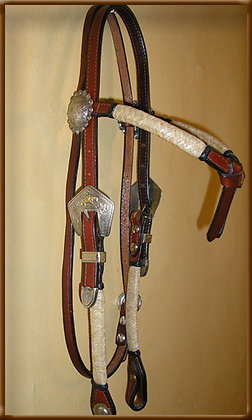 Bridle Leather full Braid  With Bosal Buckle