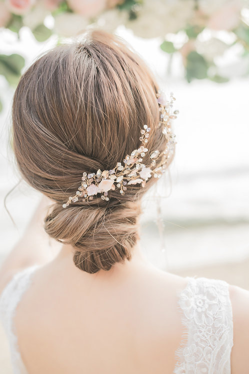 Dance in the Blossom Hair Piece