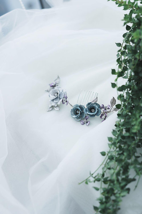 Elsa collection hand painted flower headpiece