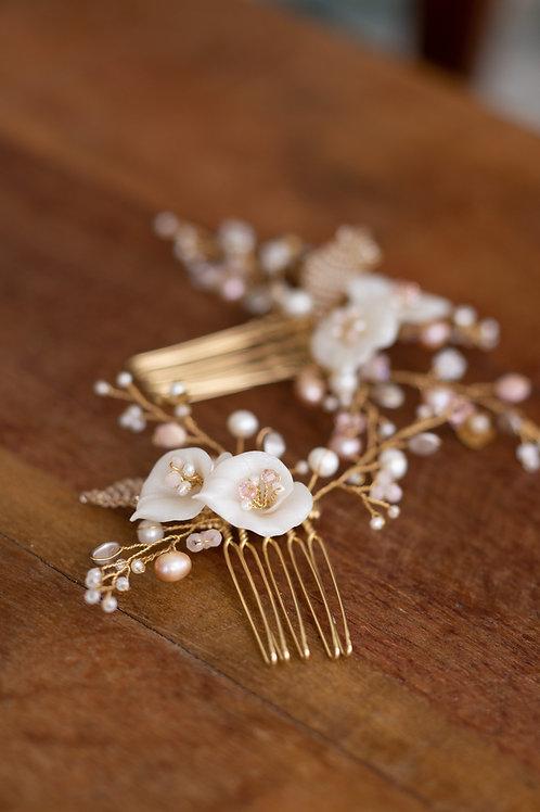 Secret Garden Calla Lilly Hair comb