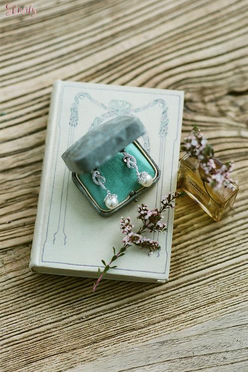 925 silver Swarovski crystal earrings