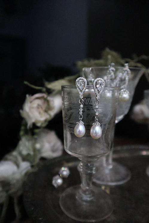 Classy Royal Fresh water Pearl Earrings