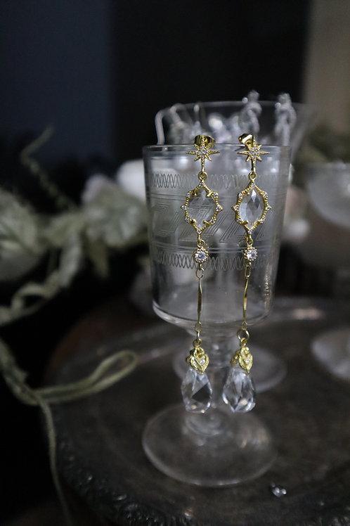 Oh My Godness Swarovski Water Drop Earrings