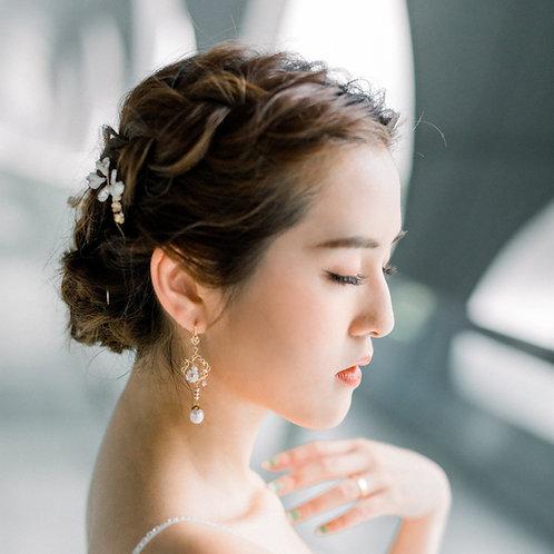 Jewelery Making Course- Fresh water Pearl Earrings