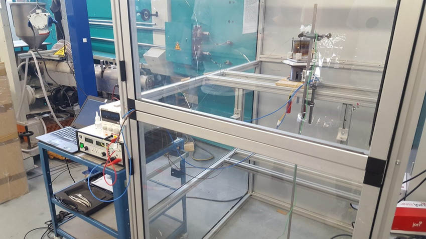 Spinning tests of the proof-of-concept prototype, May 2020