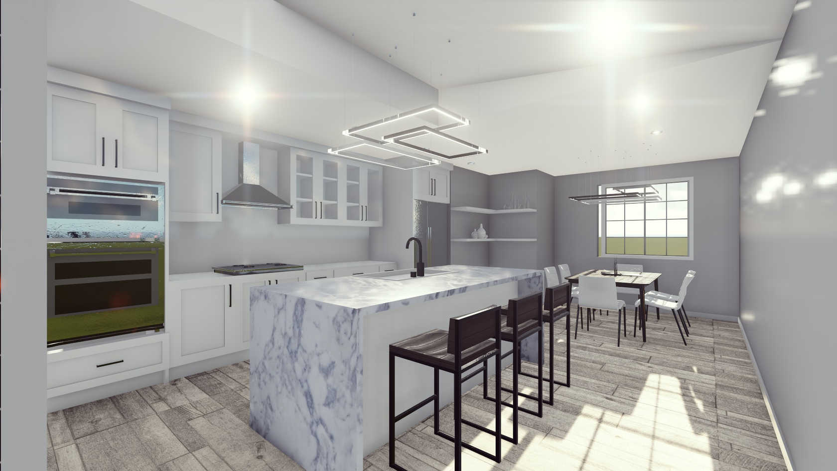 3D Rendering/Kitchen