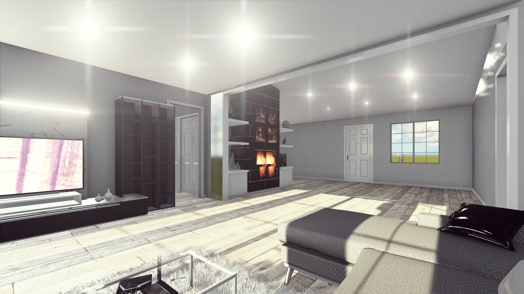 3D Rendering/Living Room