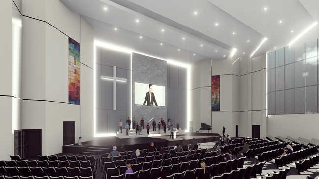 Main Chapel Design