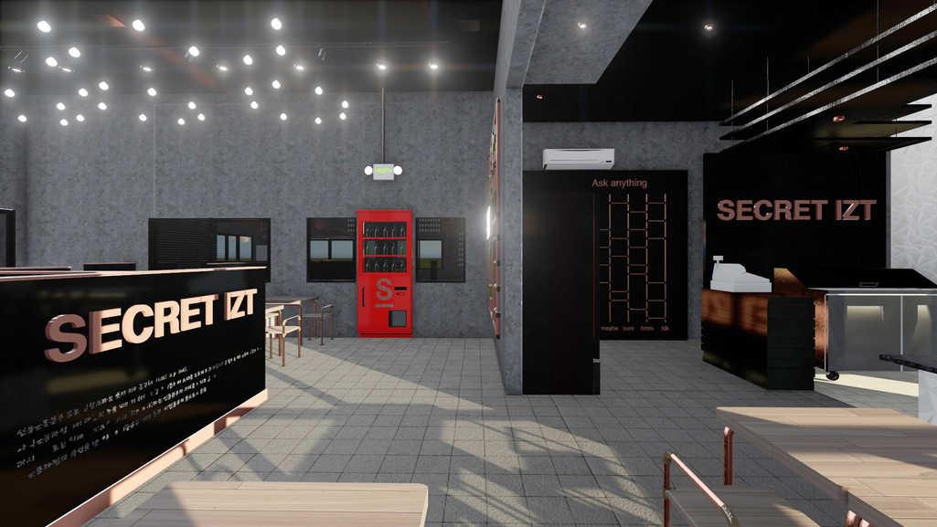 3D Rendering/Hall Area