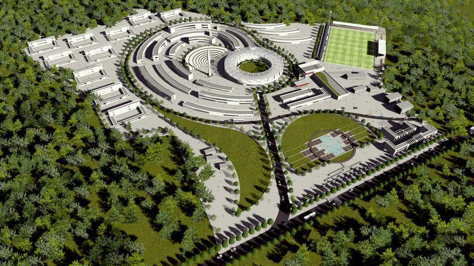University Design/3D Modeling&Rendering