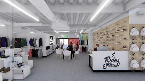 M.R.E/Clothing Store