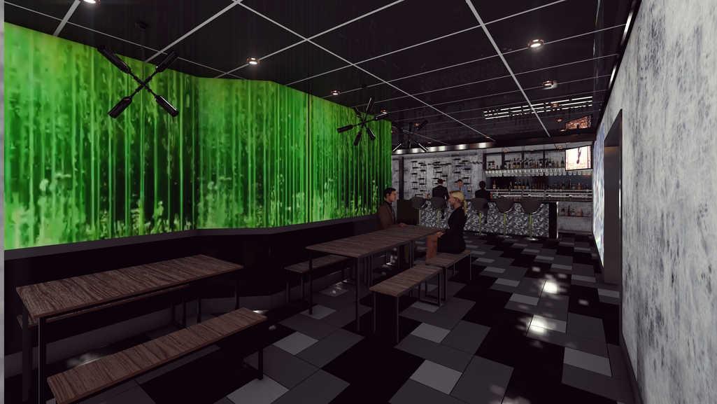 3D Rendering/Bar Area