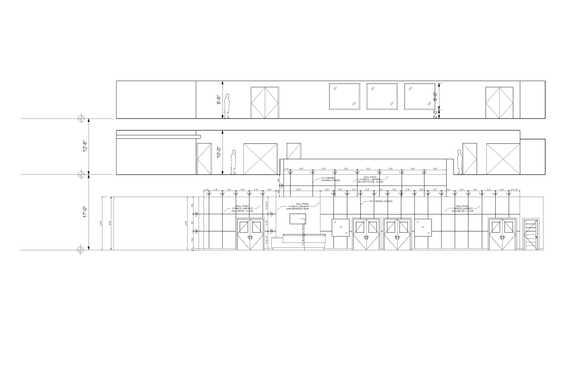 Lobby Elevation Drawing
