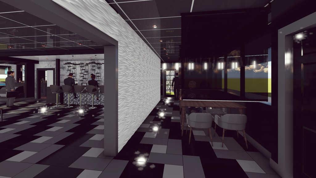 3D Rendering/Semi Private Space