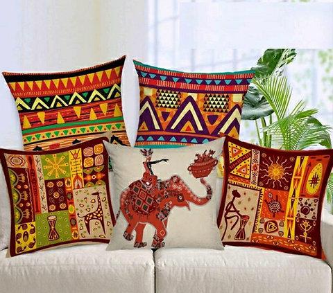 Decorative Hand Made Jute Cushion