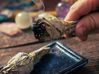 Clearing Lower Energy by Smudging