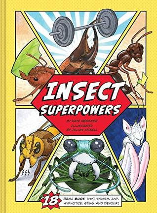 Book Cover art for Insect Superpowers