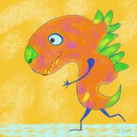 Little Monster Running