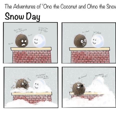 'Ono and Ohno Snow Day