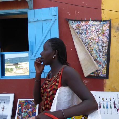 """Ilha de Gorée """"Uma homenagemao belo e à reconciliação"""""""
