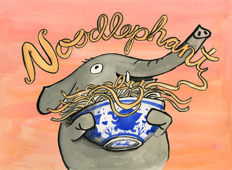 Noodlephant -- Perfect Picture Book Friday