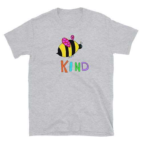 Bee Kind Short-Sleeve Unisex T-Shirt