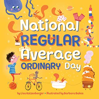 Book cover art for National Regular Average Ordinary Day
