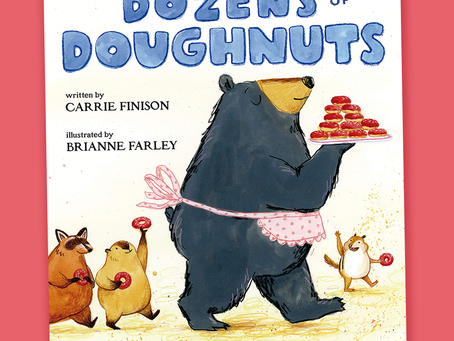 Dozens of Doughnuts -- Perfect Picture Book Friday