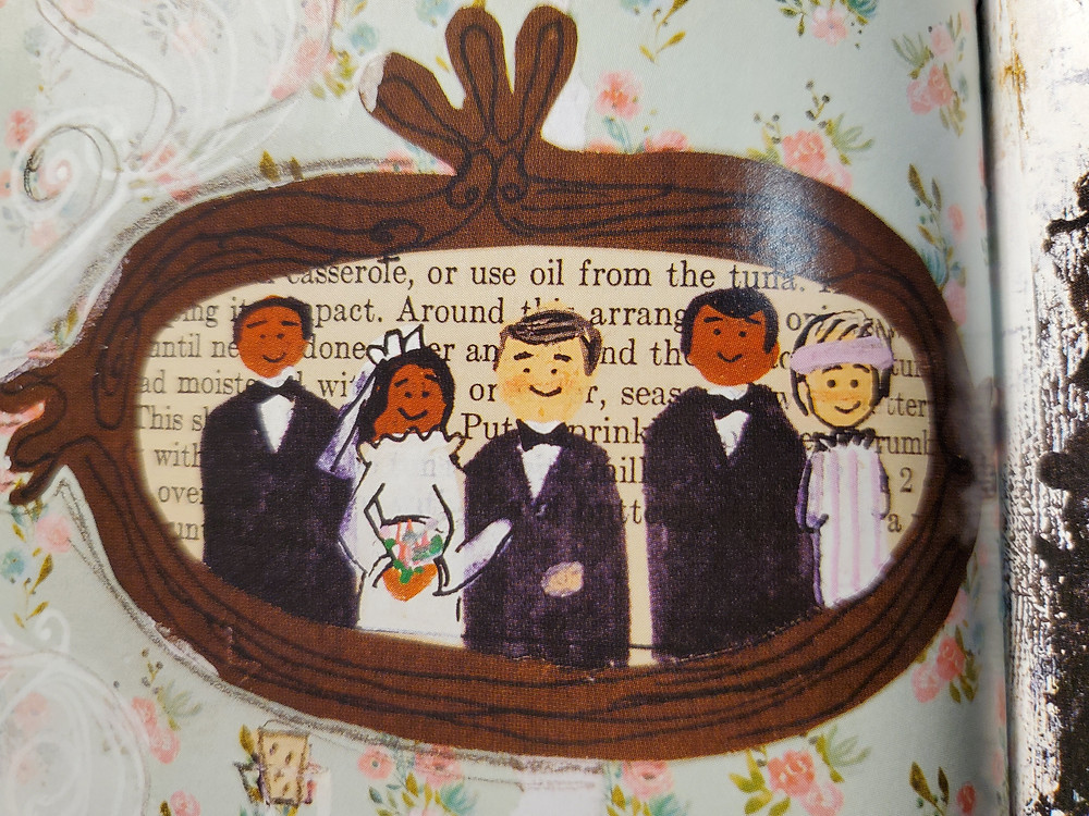 A detail from the Gumbo Me poem Wedding portrait