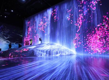 Mori Building Digital Art Museum - O mundo digitalcomo arte