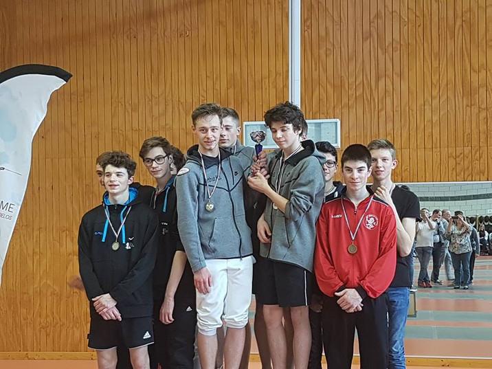 Compétitions du dimanche 08/04 : des podiums !