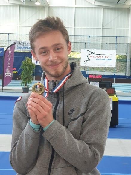 Championnats de France M 20 : une nouvelle médaille pour le club !