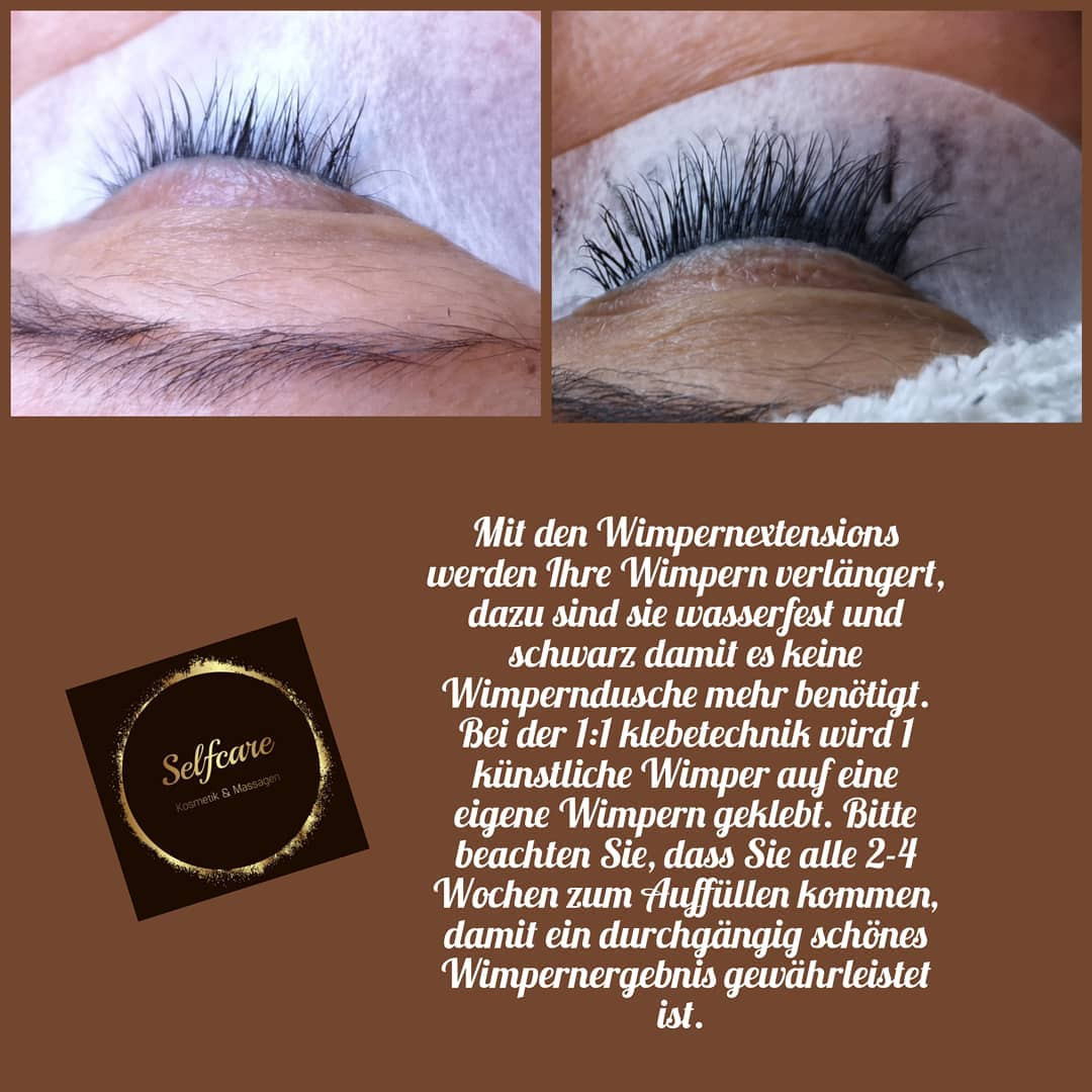 Wimpernextensions 1:1
