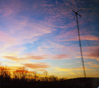 Apple Pond Farm wind turbine