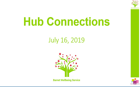 Hub connections poster
