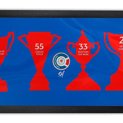 Rangers Major Honours Bar Runner Mat