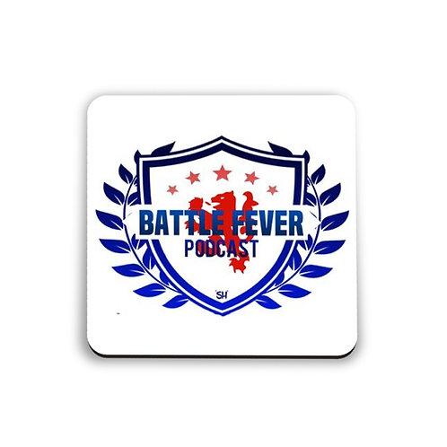 Battle Fever Podcast Coaster