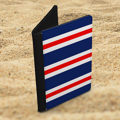 Bar Scarf Passport Cover