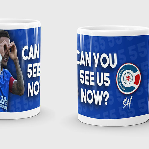Can You See Us Coming Now Mug
