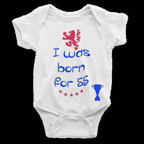 Born for 55 Babygrow