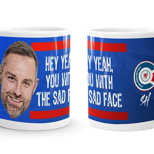 Boyd - Hey yeah, you with the sad face Mug