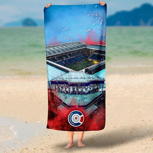 Ibrox Beach Towel