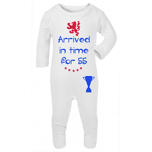 Arrived In Time for 55 Sleepsuit
