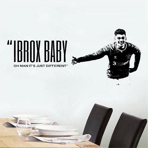 Hagi - Ibrox Baby Quote