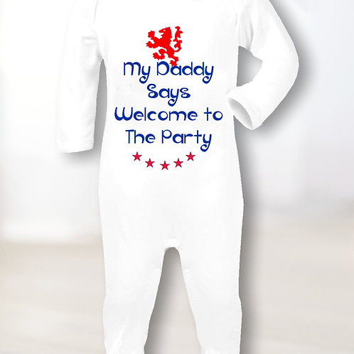 Welcome To The Party Sleepsuit