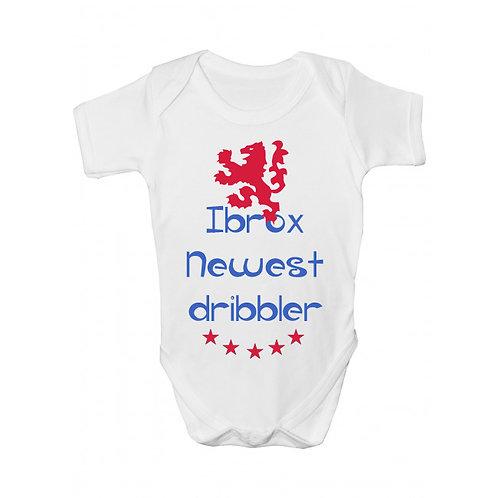 Ibrox Newest Dribbler Babygrow