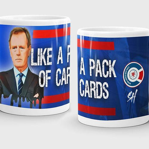 Like a Pack of Cards Mug