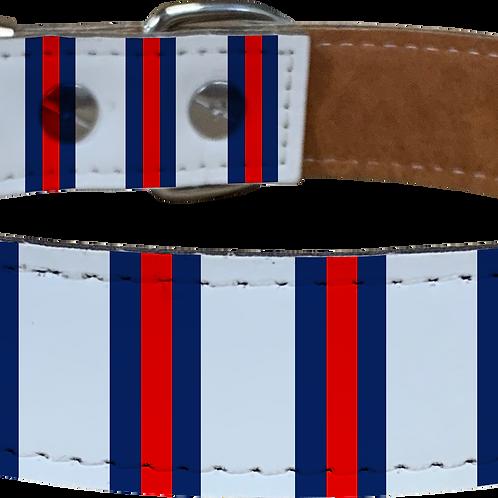 Away Bar Scarf Faux Leather Dog Collar