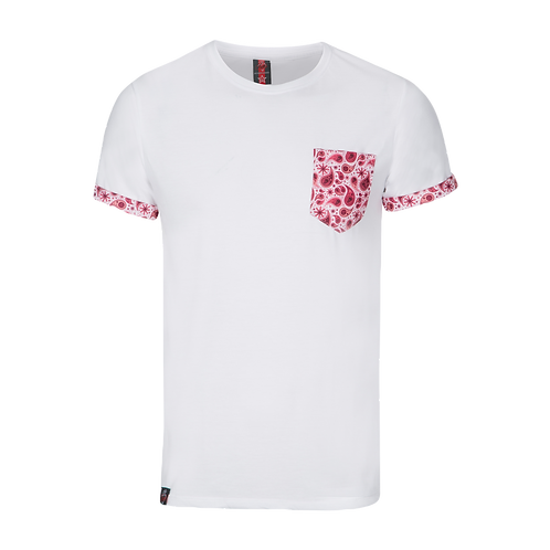 Paisley Pocket T-Shirt