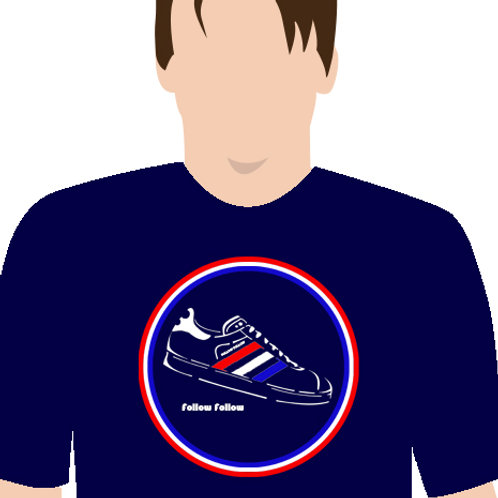 Follow Follow Glasgow Rangers T-Shirt